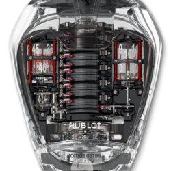 Ремонт часов Hublot 905.JX.0001.RT Masterpieces MP-05 Ferrari Sapphire в мастерской на Неглинной