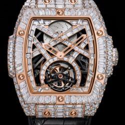 Ремонт часов Hublot 906.OX.9000.LR.9904 Masterpieces MP-06 High Jewellery Full Baguette в мастерской на Неглинной