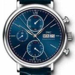 Ремонт часов IWC IW-391019 Portofino Chronograph Edition Laureus Sport for Good Foundation в мастерской на Неглинной