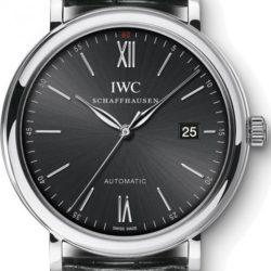 Ремонт часов IWC IW356502 Portofino Automatic 40mm в мастерской на Неглинной