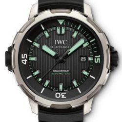 Ремонт часов IWC IW358002 Aquatimer Automatic 2000 в мастерской на Неглинной