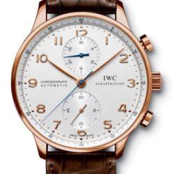 Ремонт часов IWC IW371480 Portuguese Chronograph RG в мастерской на Неглинной