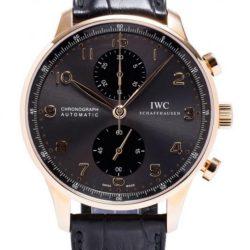 Ремонт часов IWC IW371482 Portuguese Automatic Chronograph RG в мастерской на Неглинной