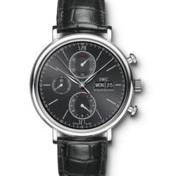 Ремонт часов IWC IW391002 Portofino Chronograph в мастерской на Неглинной