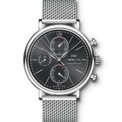 Ремонт часов IWC IW391006 Portofino Chronograph в мастерской на Неглинной
