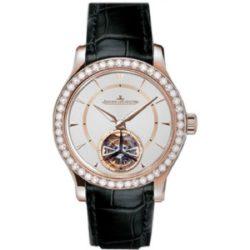 Ремонт часов Jaeger LeCoultre 1662 405 Haute Joaillerie Master Grand Tourbillon в мастерской на Неглинной