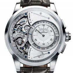 Ремонт часов Jaeger LeCoultre 6033420 Hybris Mechanica a Grande Sonnerie в мастерской на Неглинной