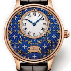 Ремонт часов Jaquet Droz J005013240 Les Ateliers D'Art Petite Heure Minute Paillonnee в мастерской на Неглинной
