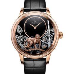 Ремонт часов Jaquet Droz J005023281 Les Ateliers D'Art Petite Heure Minute Relief Monkey 41mm в мастерской на Неглинной