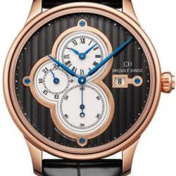 Ремонт часов Jaquet Droz J015133240 Majestic Beijing Time Zones Cotes de Geneve Rose Gold 2013 в мастерской на Неглинной