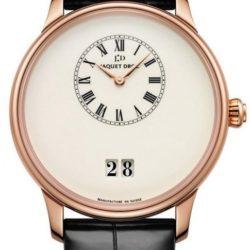 Ремонт часов Jaquet Droz J016933200 Majestic Beijing Grande Date Ivory Enamel в мастерской на Неглинной