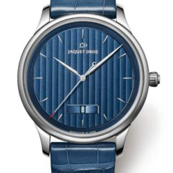 Ремонт часов Jaquet Droz J017510240 Blue Complications La-Chaux-De-Fonds Grande Heure Minute Quantiéme в мастерской на Неглинной