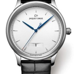 Ремонт часов Jaquet Droz J017510240 Silver Black Complications La-Chaux-De-Fonds Grande Heure Minute Quantiéme в мастерской на Неглинной
