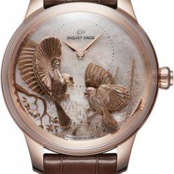 Ремонт часов Jaquet Droz j005023270 SEASONS FALL Les Ateliers D'Art Petite Heure Minute Relief в мастерской на Неглинной
