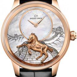 Ремонт часов Jaquet Droz j005023275 HORSE Les Ateliers D'Art Petite Heure Minute Relief в мастерской на Неглинной