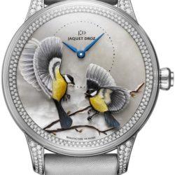 Ремонт часов Jaquet Droz j005024575 SEASONS WINTER Les Ateliers D'Art Petite Heure Minute Relief в мастерской на Неглинной