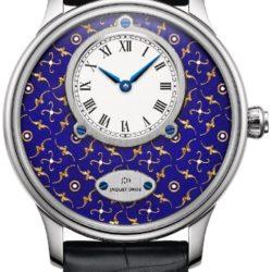 Ремонт часов Jaquet Droz j005034258 Legend Geneva Les Ateliers d'Art Petite Heure Minute Paillonnee в мастерской на Неглинной