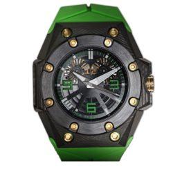 Ремонт часов Linde Werdelin Double Date Carbon - Green Oktopus Waterproof в мастерской на Неглинной