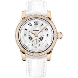 Ремонт часов Montblanc 109184 Villeret 1858 Seconde Authentique Diamonds в мастерской на Неглинной