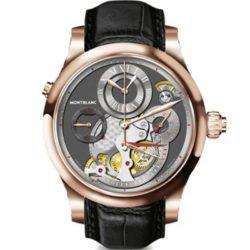Ремонт часов Montblanc 109433 Villeret 1858 Chronographe Regulateur в мастерской на Неглинной