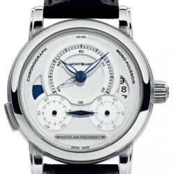Ремонт часов Montblanc 111012 Nicolas Rieussec Homage в мастерской на Неглинной