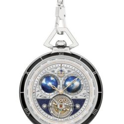 Ремонт часов Montblanc 112586 Villeret 1858 Tourbillon Cylindrique Transatlantic Pocket Watch Limited Edition 8 в мастерской на Неглинной
