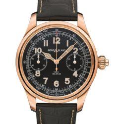 Ремонт часов Montblanc 112637 Villeret 1858 Chronograph Tachymeter Limited Edition в мастерской на Неглинной