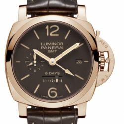 Ремонт часов Officine Panerai PAM 00576 Luminor 1950 8 Days GMT Oro Rosso в мастерской на Неглинной