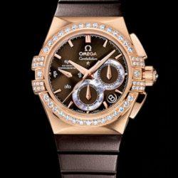 Ремонт часов Omega 121.57.35.50.13.001 Constellation Ladies Double eagle co-axial chronograph в мастерской на Неглинной