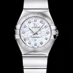 Ремонт часов Omega 123.10.24.60.55-002 Constellation Ladies Quartz в мастерской на Неглинной