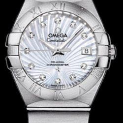 Ремонт часов Omega 123.10.27.20.55-001 Constellation Ladies Co-axial в мастерской на Неглинной