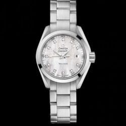 Ремонт часов Omega 231.10.30.60.55.001 Seamaster Ladies Aqua terra 150m quartz в мастерской на Неглинной