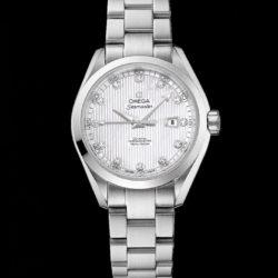 Ремонт часов Omega 231.10.34.20.55.001 Seamaster Ladies Aqua terra 150m co-axial в мастерской на Неглинной
