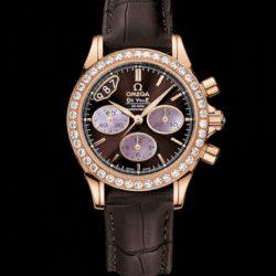Ремонт часов Omega 422.58.35.50.13.001 De Ville Ladies Chronograph в мастерской на Неглинной