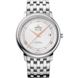 Ремонт часов Omega 424.10.37.20.02.002 De Ville Prestige Co-Axial 36.8 mm в мастерской на Неглинной