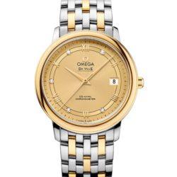 Ремонт часов Omega 424.20.37.20.58.002 De Ville Prestige Co-Axial 36.8 mm в мастерской на Неглинной