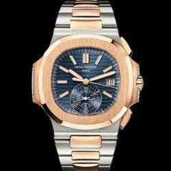 Ремонт часов Patek Philippe 5980/1AR-001 Nautilus Stainless Steel and Rose Gold в мастерской на Неглинной