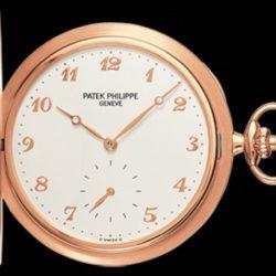 Ремонт часов Patek Philippe 980R-001 Pocket Watches Rose Gold - Men Hunter Pocket Watches в мастерской на Неглинной