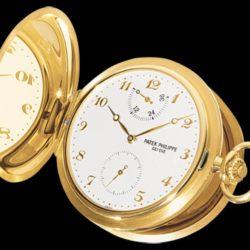 Ремонт часов Patek Philippe 983J-001 Pocket Watches Men Hunter Pocket Watches в мастерской на Неглинной