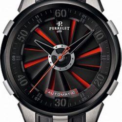 Ремонт часов Perrelet A1050 Double Rotor Turbine XL Red Titanium and Black DLC в мастерской на Неглинной