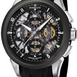 Ремонт часов Perrelet A1056/2 Chronograph Skeleton в мастерской на Неглинной