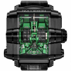 Ремонт часов Rebellion Black DLC Grade 5 Titanium Green T-1000 T1K в мастерской на Неглинной