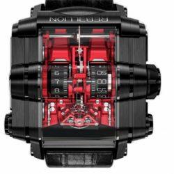 Ремонт часов Rebellion Black DLC Grade 5 Titanium Red T-1000 T1K в мастерской на Неглинной