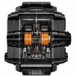Ремонт часов Rebellion Black DLC Grade 5 Titanium Yellow T-1000 T1K в мастерской на Неглинной