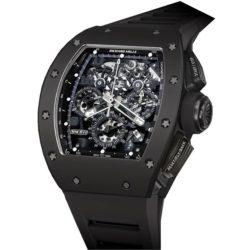 Ремонт часов Richard Mille RM 011 Flyback Chronograph Black Phantom RM Automatic в мастерской на Неглинной