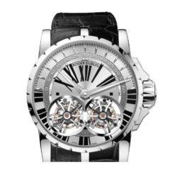 Ремонт часов Roger Dubuis EX45-01-80-00/0RR00/B Excalibur Double Flying Tourbillon в мастерской на Неглинной