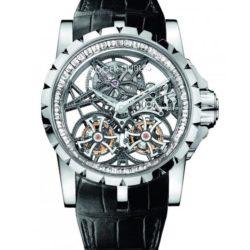 Ремонт часов Roger Dubuis EX45-01SQ-20-00/SX000/B Excalibur Skeleton Double Flying Tourbillon в мастерской на Неглинной