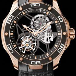 Ремонт часов Roger Dubuis RDDBPU0001 Pulsion Pulsion Flying Tourbillon Skeleton в мастерской на Неглинной
