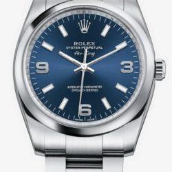 Ремонт часов Rolex 114200 Blue Oyster Perpetual Air-King 34mm Steel в мастерской на Неглинной