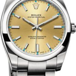 Ремонт часов Rolex 114200 gold Oyster Perpetual 34 mm Steel в мастерской на Неглинной